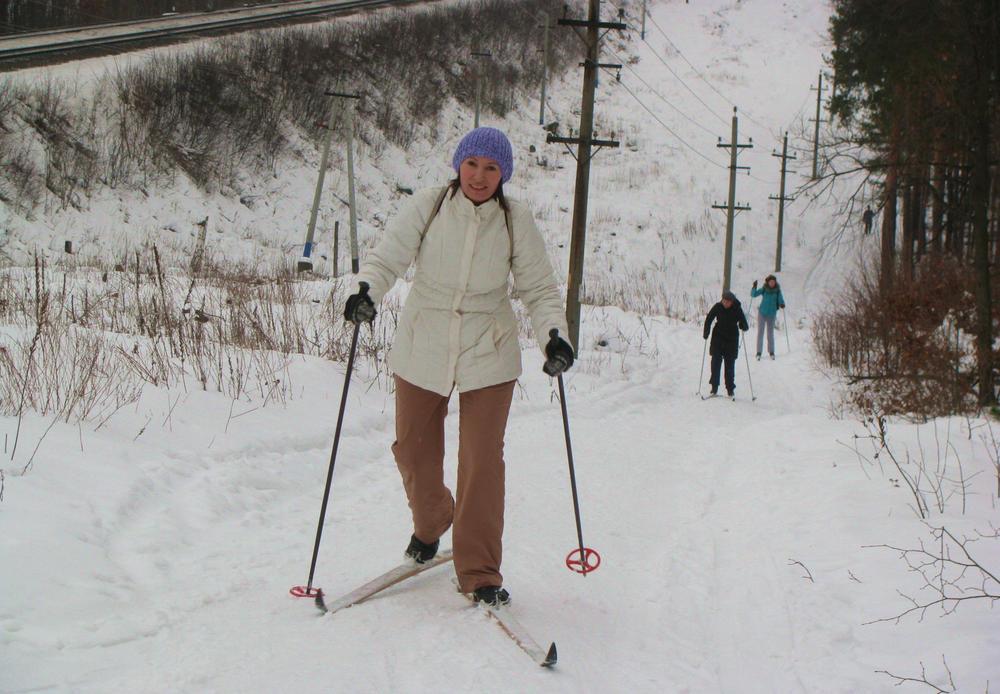 ГАК и Наташа лезут в гору
